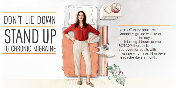 Stand Up to Chronic Migraine graphic